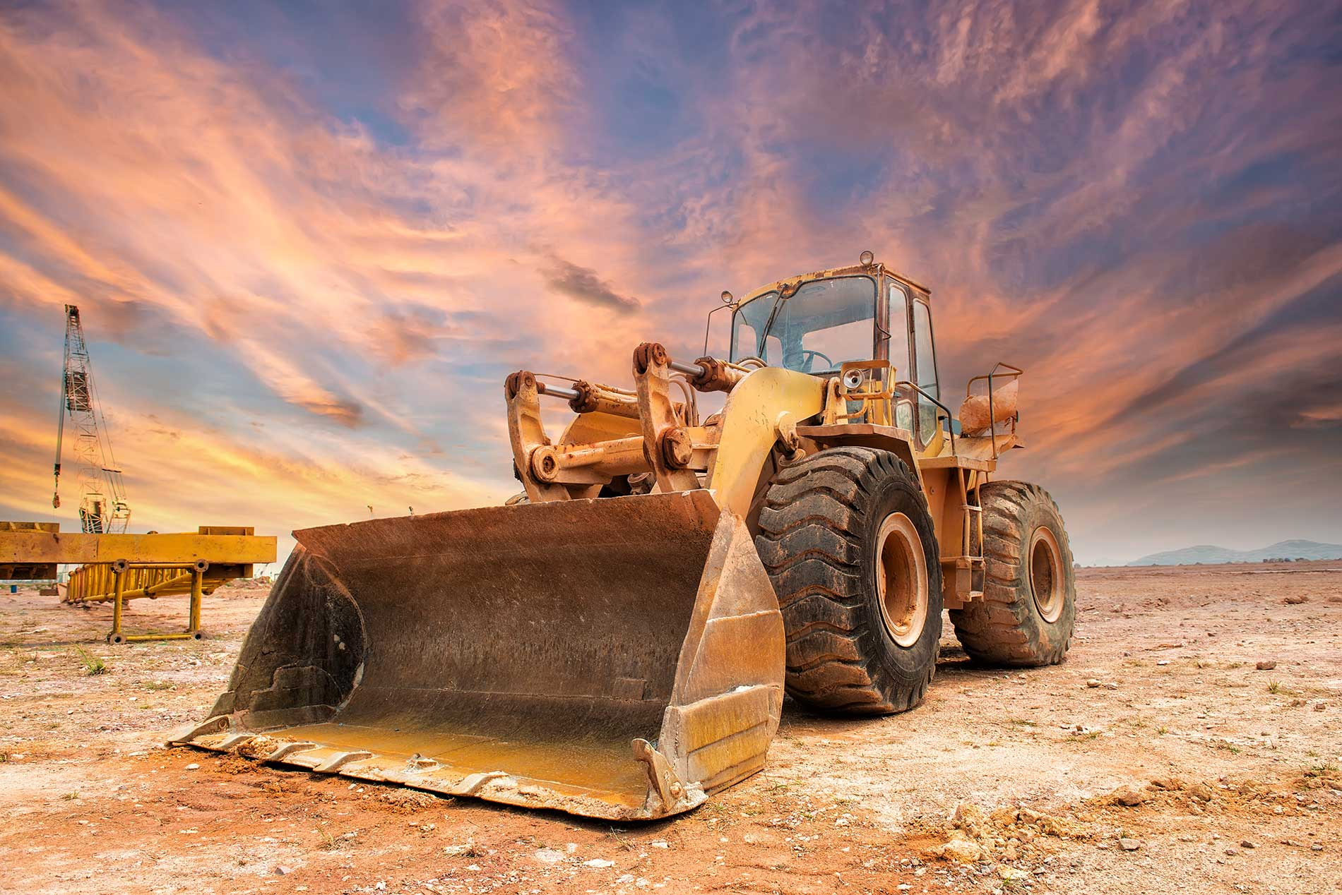 Earthmoving-Welding